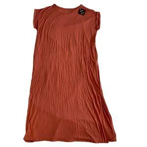 Ava & Viv Coral Short Sleeve Jade Knit Dress X